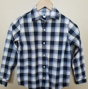 Janie and Jack boys button up shirt